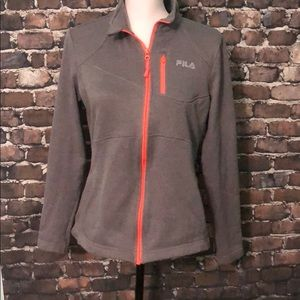 Fila Sport zip up running sweat shirt jacket M